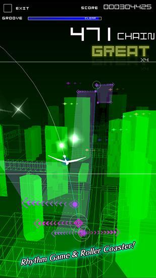 Arcade-Spiele Groove coaster 2: Original style für das Smartphone