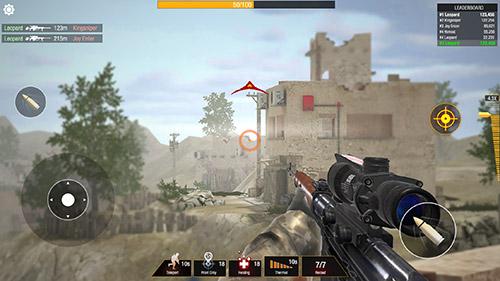 Bullet strike: Sniper battlegrounds für Android