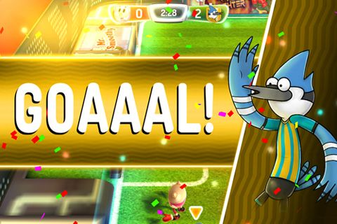 Screenshot Cartoon Network Superstar Fußball auf dem iPhone