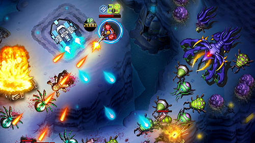 Infinite fire: Swarm assault pour Android
