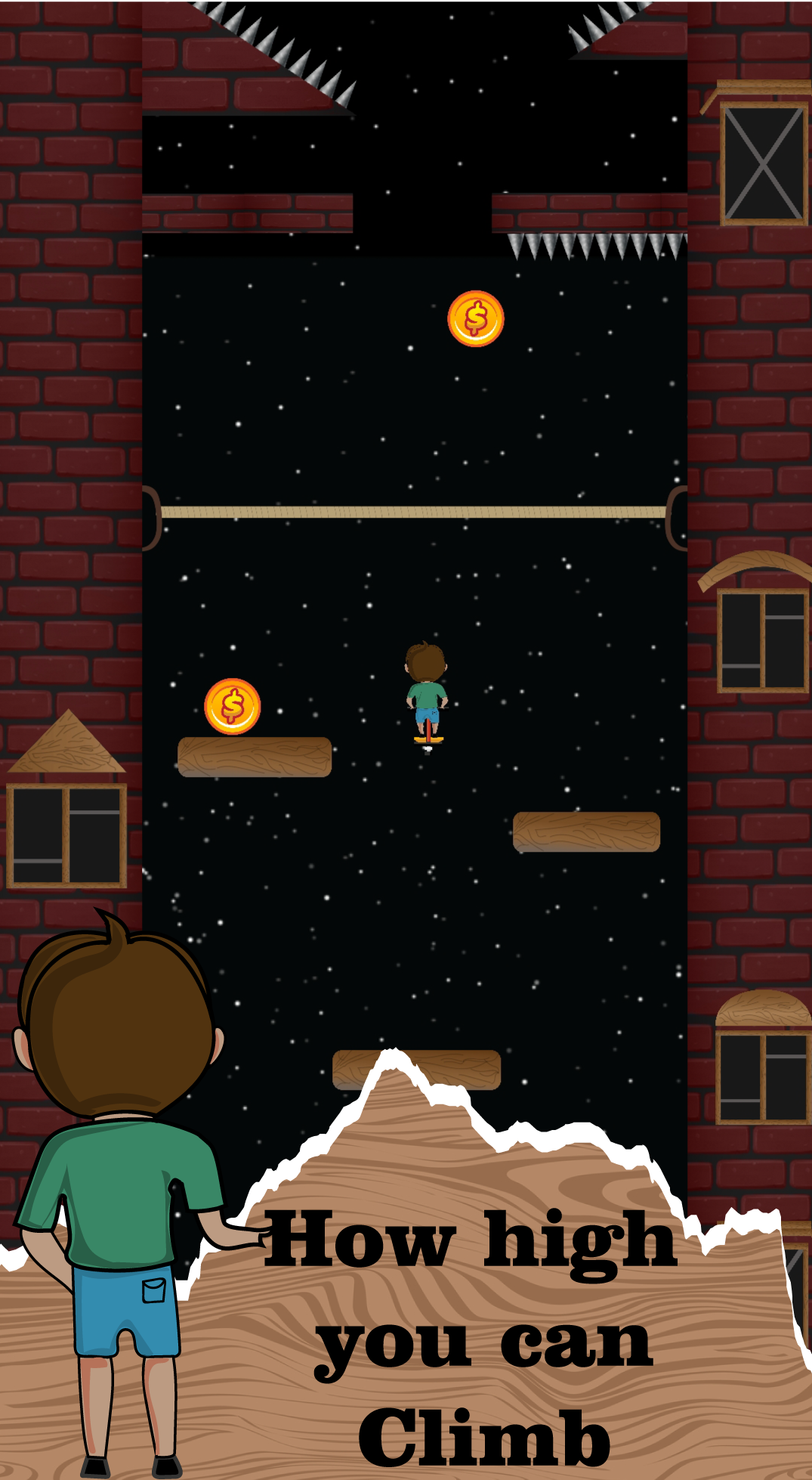 Jogo Android Jumping Jack