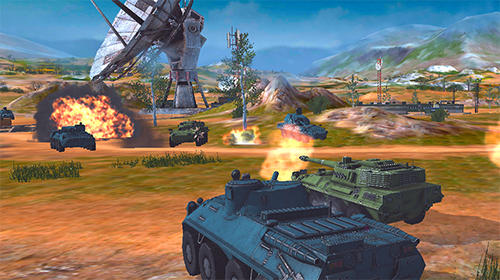 Shooter Metal force: War modern tanks auf Deutsch