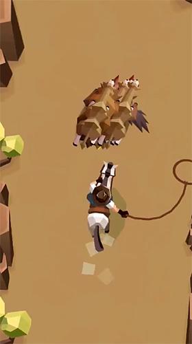 Cowboy GO!: Catch giant animals für Android