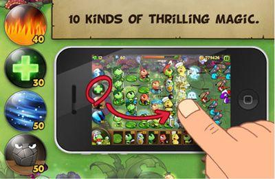 Serpientes contra ranas para iPhone