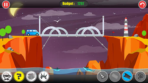 Path of traffic: Bridge building für Android