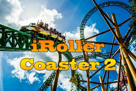 Screenshot iRoller Coaster 2 auf dem iPhone