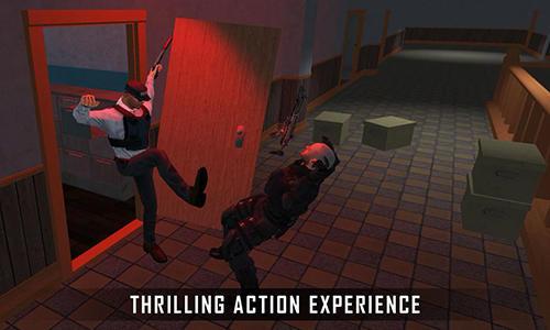 Action Secret agent: Rescue mission 3D für das Smartphone