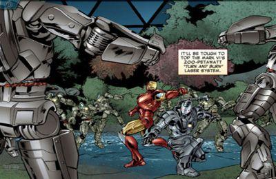 截图钢铁侠之复仇者联盟在iPhone