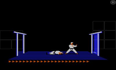 Kampfspiele Karateka Classic für das Smartphone