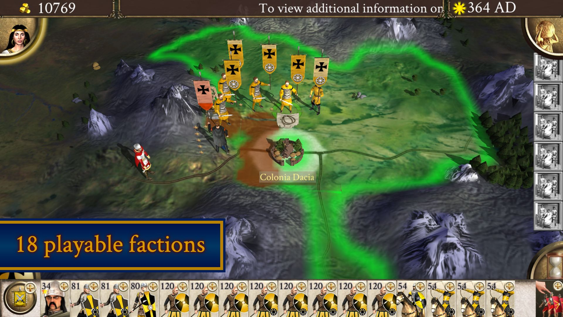 ROME: Total War - Barbarian Invasion スクリーンショット1