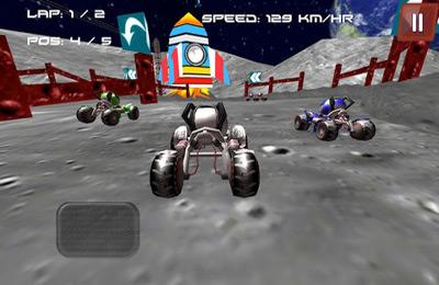 Rennspiele: Lade Mond-Buggy 3D ( Rennspiel ) auf dein Handy herunter