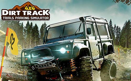 4x4 dirt off-road parking: Forest trials simulator скриншот 1