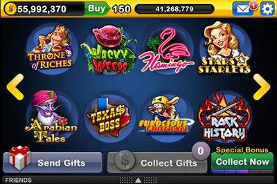 Screenshot Slotmania auf dem iPhone