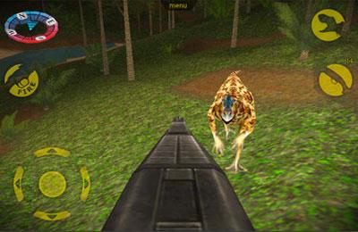 Captura de tela Caçador para Dinosauros no iPhone