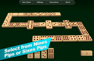Gambling games: download Domino HD to your phone