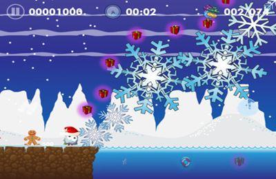 Скриншот Праздничный сезон в Блобтопии на Айфон