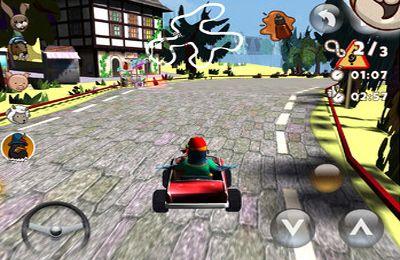 Screenshot Teddy Wackelohr: Das Rennen auf dem iPhone