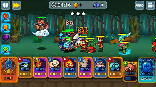 Monster defense king für Android