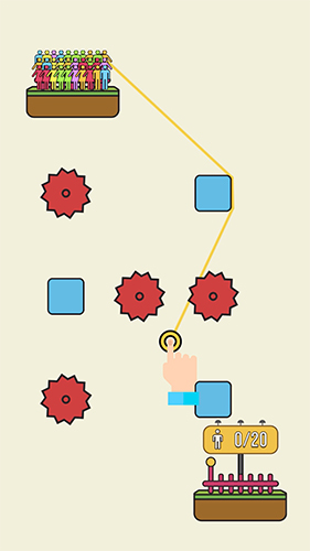 Rope rescue: Unique puzzle screenshots
