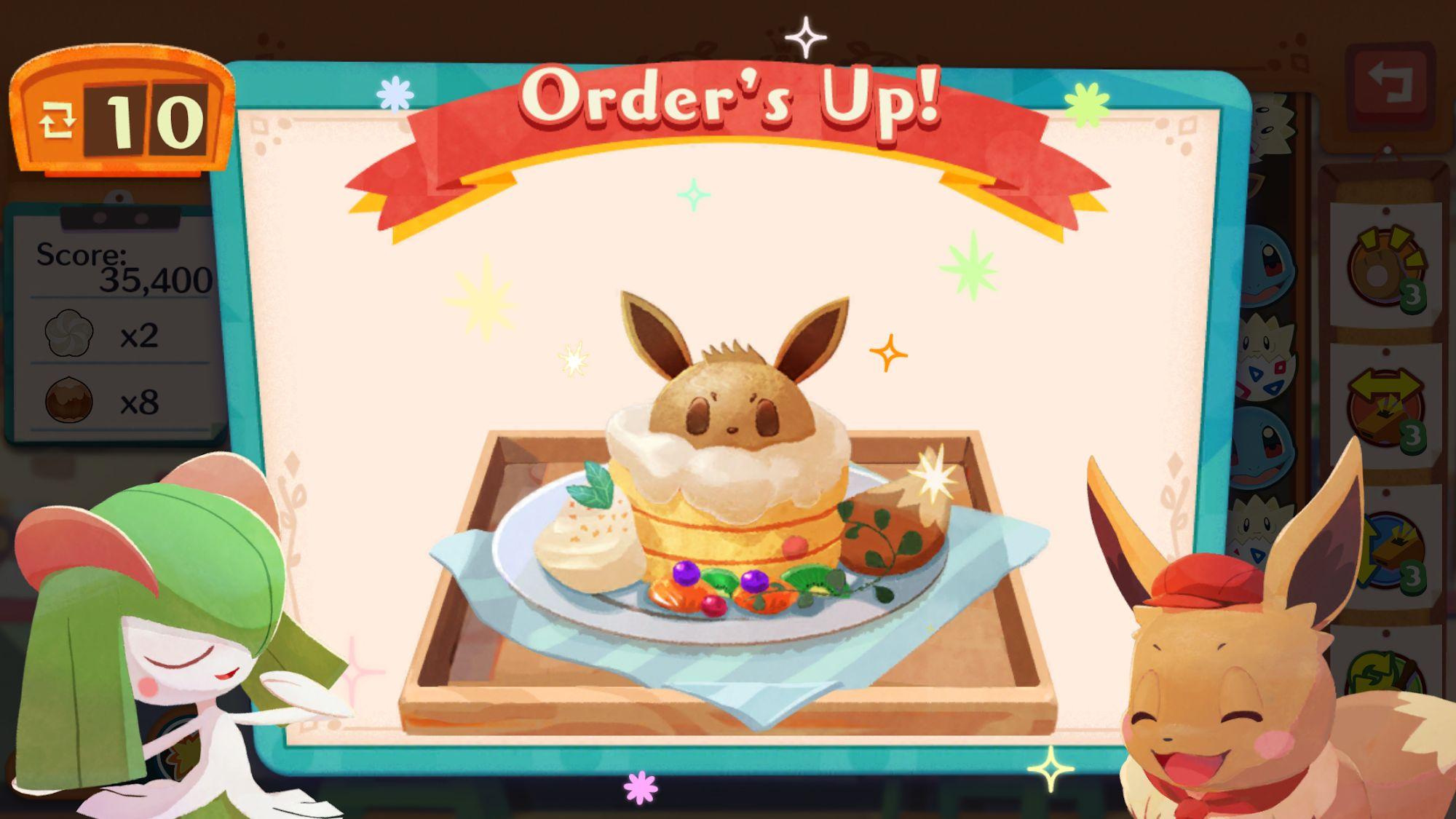 Pokémon Café Mix captura de tela 1