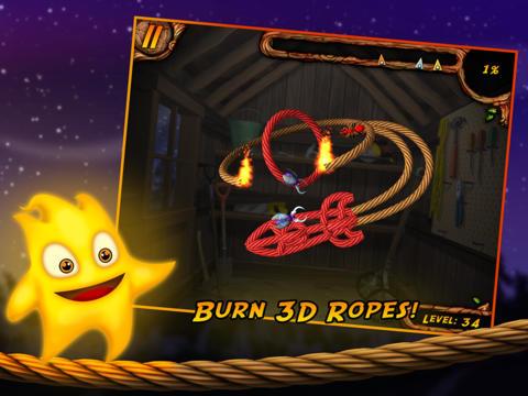 Brenne das Seil an 3D auf Deutsch