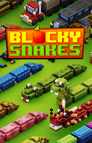 Blocky snakes Screenshot