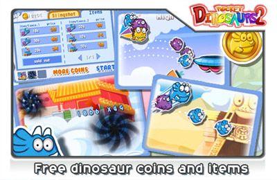 Screenshot Taschen Dinosaurier 2: Wahnsinnig süchtig! auf dem iPhone