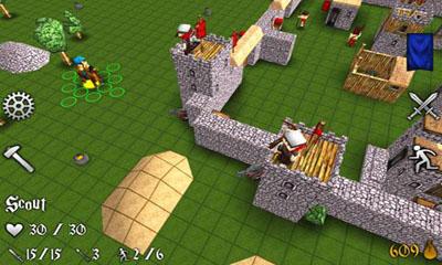 de stratégie en temps réel Battles and castles en français