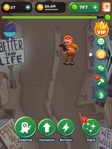 Arcade-Spiele Homo evolution für das Smartphone