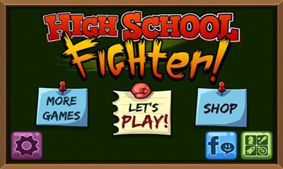 Luchas High School Fighter para teléfono inteligente