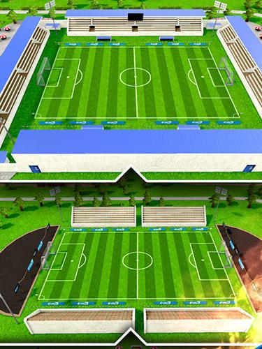 Sport Fury 90: Soccer manager für das Smartphone