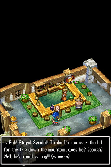 RPG Dragon quest 6: Realms of revelation for smartphone