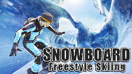 アイコン Snowboard freestyle skiing