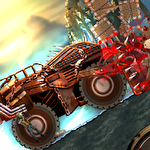 Monster car: Hill racer 2 icono