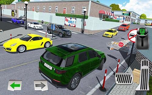Crash city: Heavy traffic drive auf Deutsch