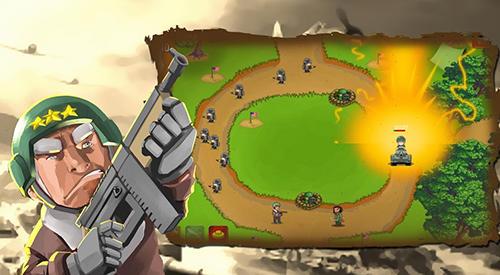 Стратегии: скачать Tower defense: Clash of WW2на телефон
