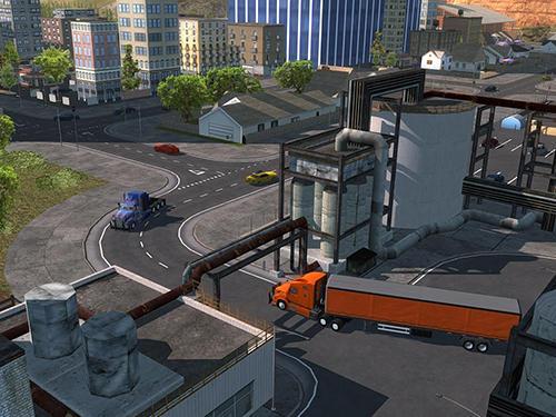 Truck simulator pro 2 screenshot 1
