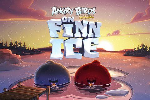 logo Angry Birds: On Finn Ice