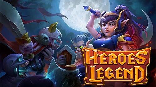 Heroes legend: Idle battle war Screenshot