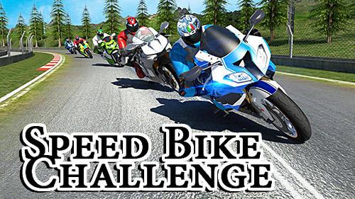 Speed bike challenge Screenshot