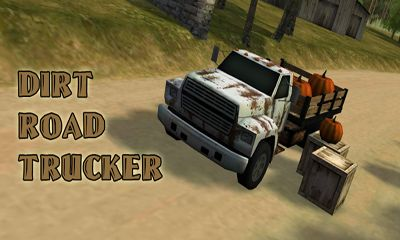 Dirt Road Trucker 3D captura de pantalla 1