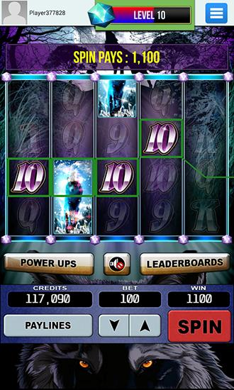 Wolf slots: Slot machine for Android