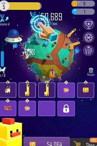 Pixel animal planet for Android