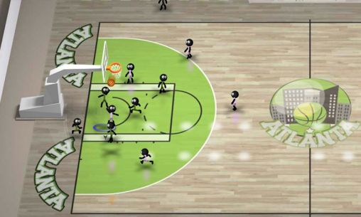 Stickman basketball screenshot 4