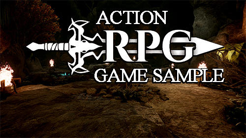 Action RPG game sample captura de tela 1