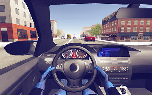 Police car racer 3D for Android