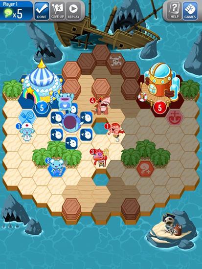 Multiplayerspiele Outwitters für das Smartphone