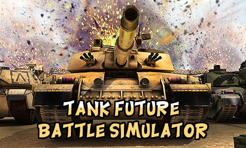 Tank future battle simulator icon