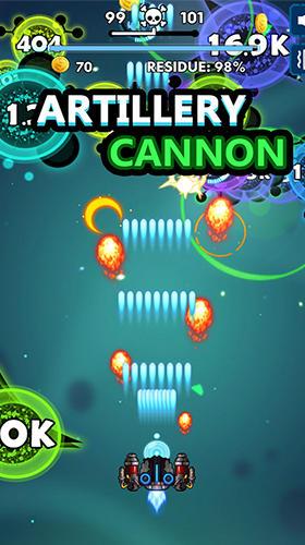 Bio blast. Infinity battle: Fire virus! für Android