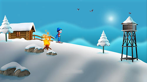 Super ski: Adventure hill for Android